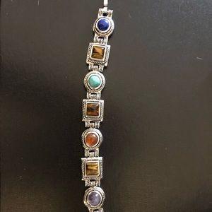 Joan rivers sterling silver bracelet